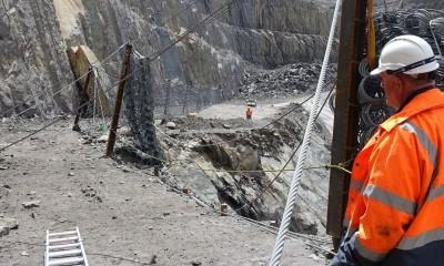 Açık ocak madenciliği için bariyerlerimiz Kanmantoo'da!