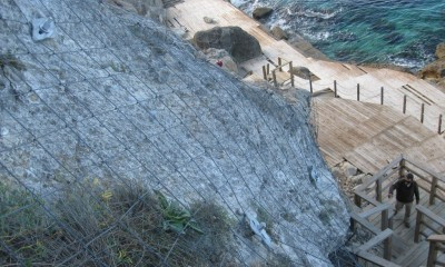QUAROX® Kayalık Şevler Stabilizasyonu