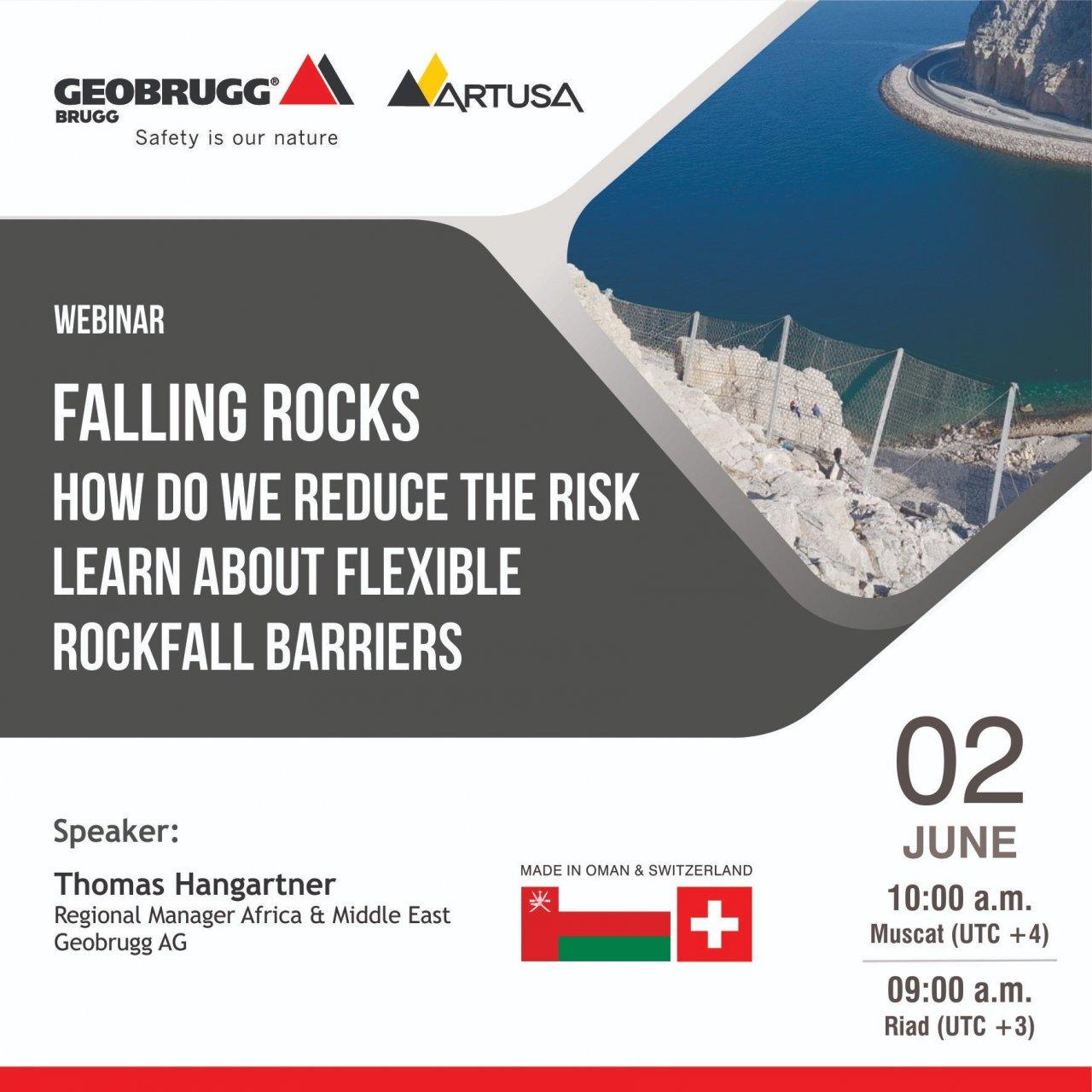 Artusa Geobrugg İşbirliği ile Çevrimiçi seminerlerimize davetlisiniz!